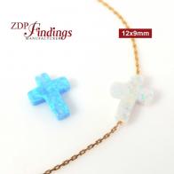 Z8329 4 strds Bleu Rouge 12 mm à Facettes Agate Bead Collier Aimant 19 in environ 48.26 cm
