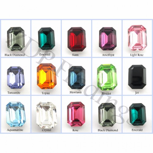 18x13mm 4610 Swarovski Octagon   , Choose your color