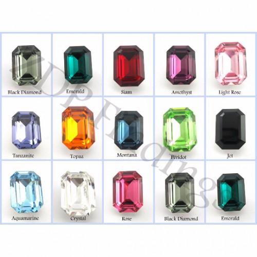14x10mm 4610 Swarovski Octagon  , Choose your color