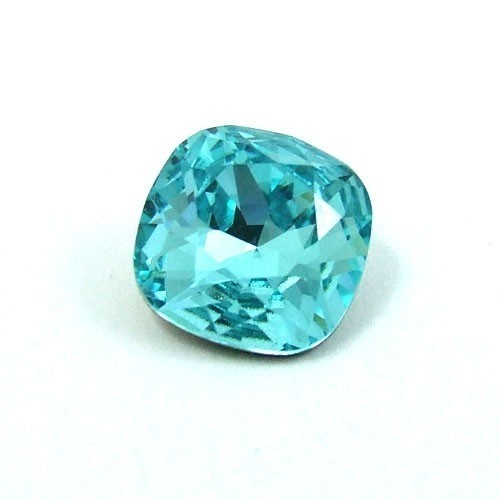 8mm 4470 Swarovski Square (cushion), Choose your color-Light Turquoise
