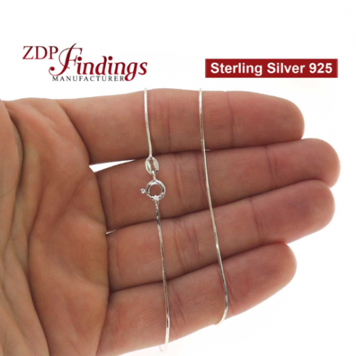 Sterling Silver 925 Finished Snake Chain