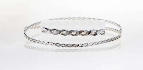 12 Inch Gallery Wire 935 Sterling Silver , 2.8x1.2mm