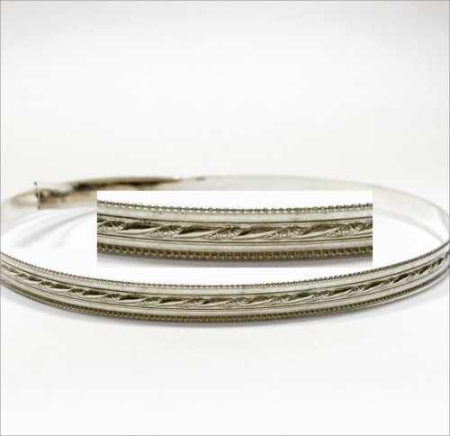 12 Inch Gallery Wire 935 Sterling Silver , 5.6x1mm