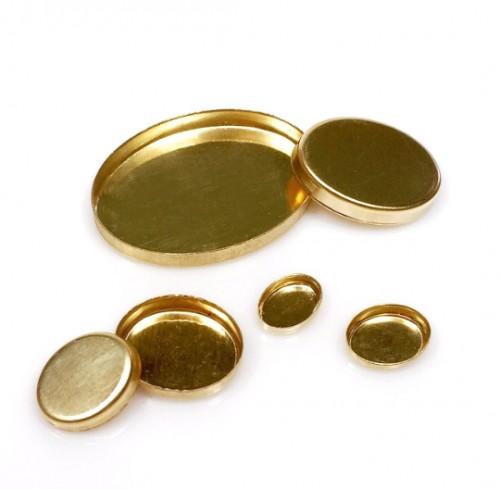 Goldfilled Bezel cup base.