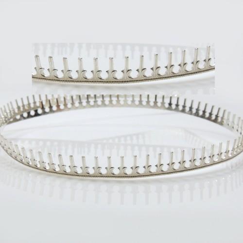 935 Silver Gallery Pattern Wire, 12 inch