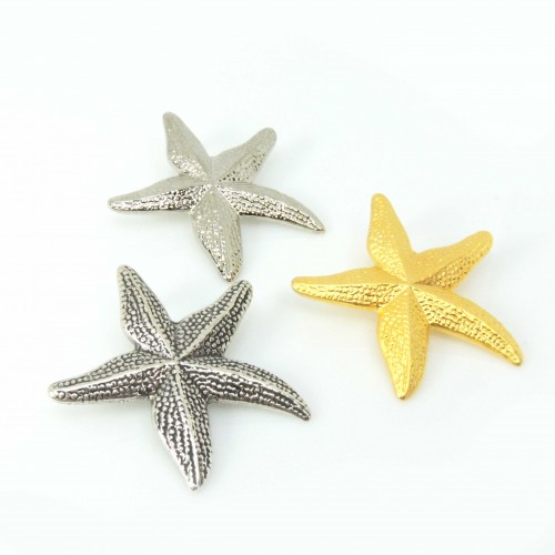 Large 40mm Starfish Pendant Necklace
