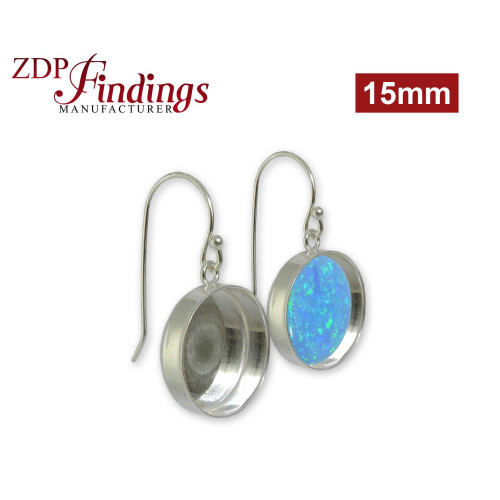 Round Bezel on French Wire, Choose your size