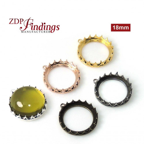 18mm Evolve Crown Bezel setting Collection