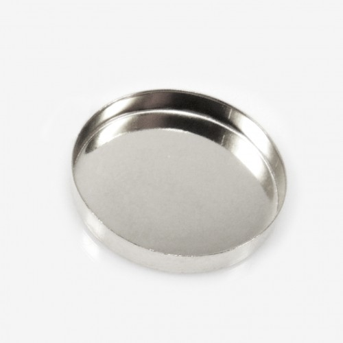 25mm Round 925 Sterling silver Bezel Cup