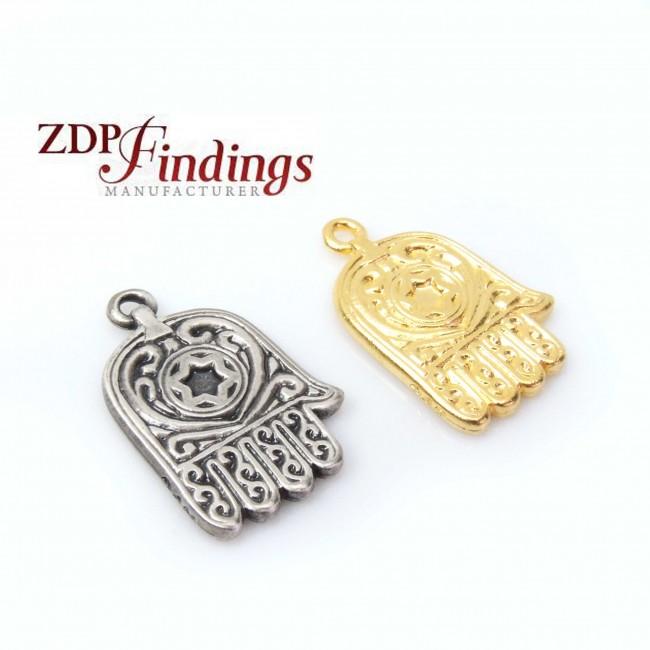 Large 25mm hamsa hand pendant charm fashion pendants findings large 25mm hamsa hand pendant charm aloadofball Choice Image