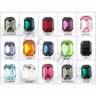 18x13mm 4610 Swarovski Octagon   , Choose your color