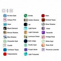 10mm 4470 Swarovski Square (cushion)  , Choose your color