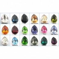 18x13mm 4320 Swarovski Pear  , Choose your color