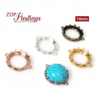 New! 14mm Evolve Crown Bezel setting Collection
