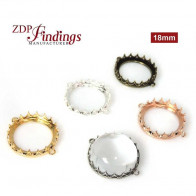 New! 18mm Evolve Crown Bezel setting Collection