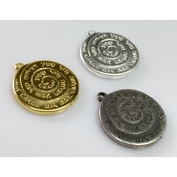 20mm Antique Medallion Coin Pendant