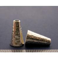16x6.8mm Shiny Silver Cones