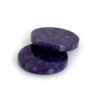 Sodalite Round Flat, Choose your size.