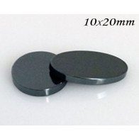 Hematite Oval Flat, Choose your size.