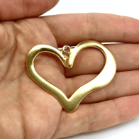 50x40mm Heart Pendant