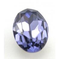 18x13mm 4120 European Crystals Oval Tanzanite