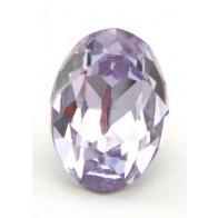 18x13mm 4120 European Crystals Oval Violet