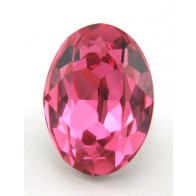 18x13mm 4120 European Crystals Oval Rose