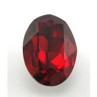 18x13mm 4120 European Crystals Oval Siam