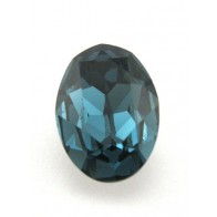 18x13mm 4120 European Crystals Oval Montana