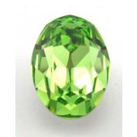 18x13mm 4120 European Crystals Oval Peridot