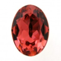18x13mm 4120 European Crystals Oval Padparadscha