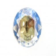 18x13mm 4120 European Crystals Oval Moonlight