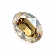 25x18mm 4120 European Crystals Oval Golden Shadow