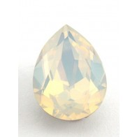18x13mm 4320 Swarovski Pear White Opal