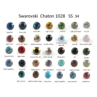 ss34 Genuine 1028 Swarovski Crystal, Choose you color