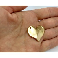 30x25mm Heart Pendant
