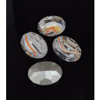 Oval 18X13mm Czech Crystals fit Swarovski 4120-Copper