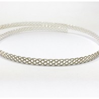 12 Inch Gallery Wire 935 Sterling Silver , 4x0.8mm