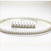 12 Inch Gallery Wire 935 Sterling Silver , 5.7x0.7mm