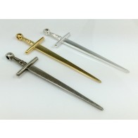 90x25mm Sword of Camelot Pendant Necklace