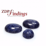 Sodalite Oval Cabochon, Choose your size.