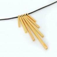 Set 6pcs Bar Pendant Necklace