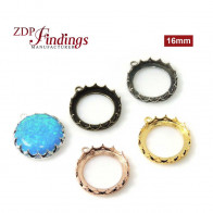 16mm Evolve Crown Bezel setting Collection