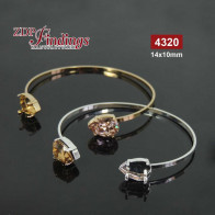 Bangle Bracelet Swarovski 4320 14x10mm