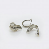 925 Sterling Silver Pinch Bail 14mm