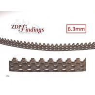 24 Inch (61cm) x 6.3mm Width Brass Strip Gallery Decorative Filigree Pattern Wire