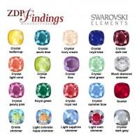 Square 10x10mm Cushion Swarovski® Original Crystals 4470
