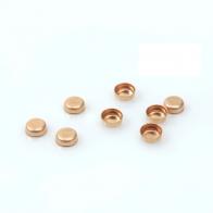Rose Gold Filled round 4mm bezel