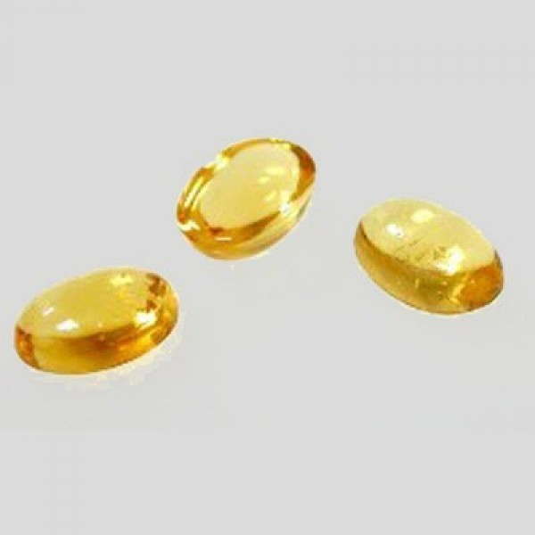 Citrine Oval Cabochon, Choose your size.