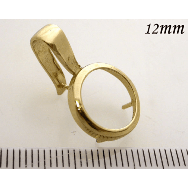 12mm Brass Bezel For Setting